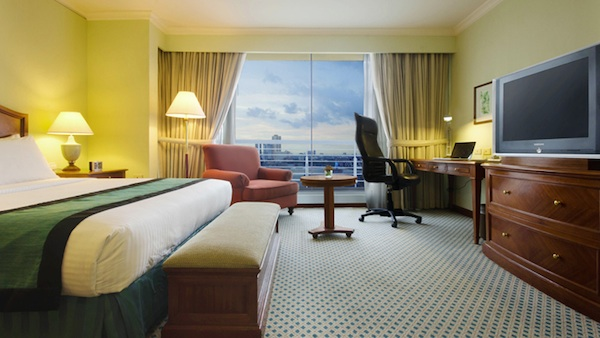 Linden Suites Ortigas Hotel Review Two Bedroom Suite - Master's Bedroom