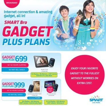 Affordable Gadget Plus Internet Connectivity Plans from Smart