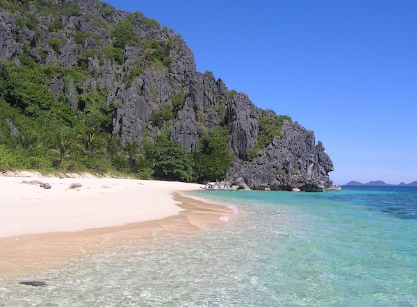 Black Island in Calamian Group of Islands