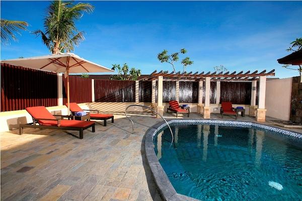Crimson Aum Spa Relaxation Area