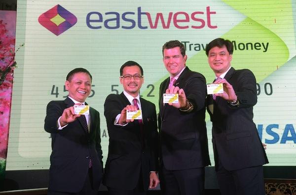 EW Travel Money Launch executives