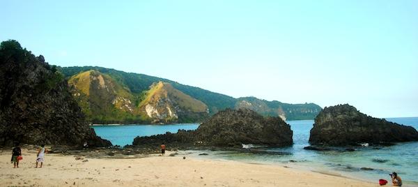 Sibang Beach in Calayan Group of Islands
