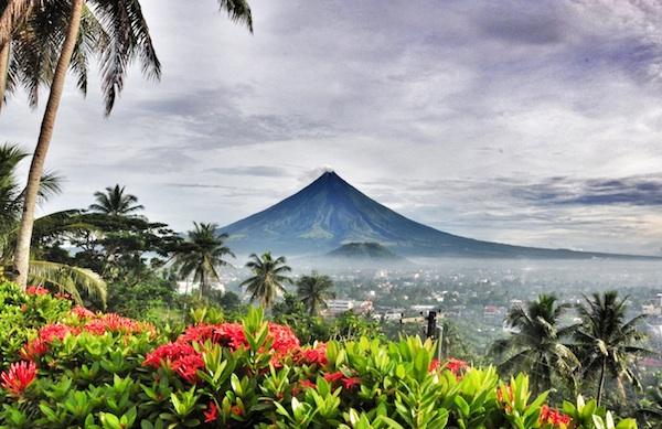 Beautiful Mayon Volcano