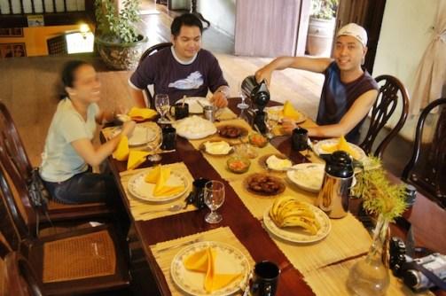 Enjoing Ilocano Breakfast