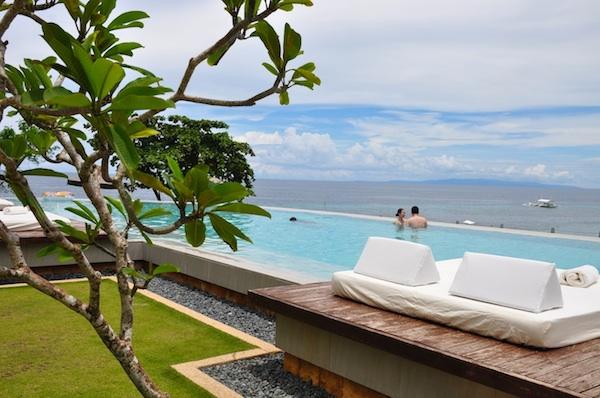 Infinity Pool at Amorita Resort in Bohol