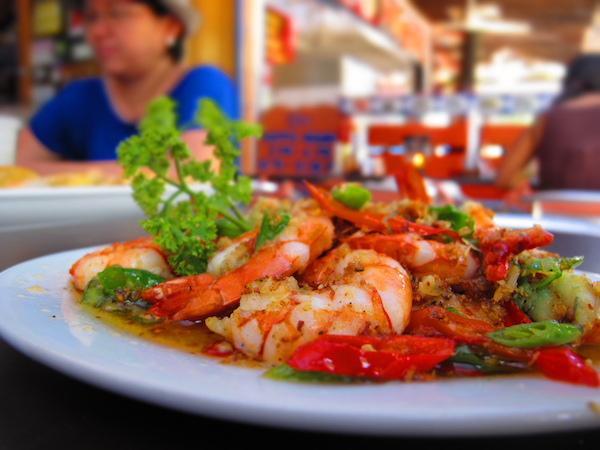 Seafood in Boracay Island