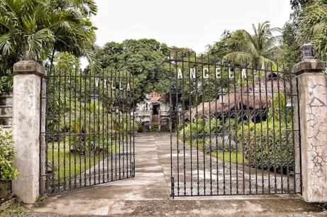 Villa Angela Main Gate