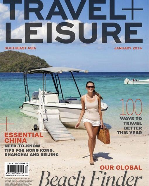 Pangulasian Island of El Nido Resorts on the Cover of Travel+Leisure Southeast Asia Edition