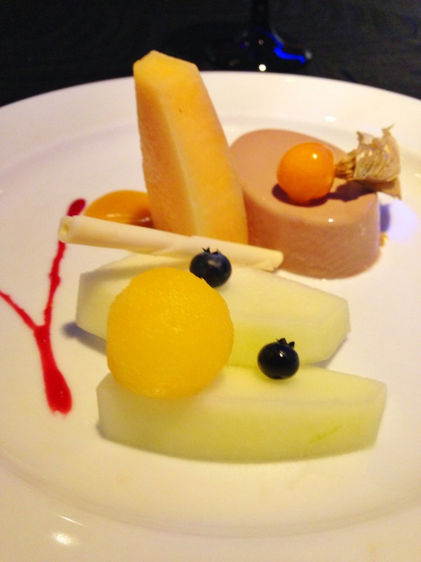 Panna Cotta with fresh fruits