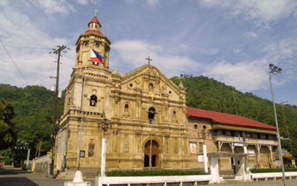 San Pedro Alcantara Parish in Pakil Laguna