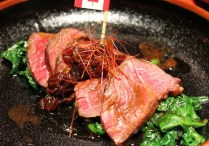 One of the dishes made from Canada Beef