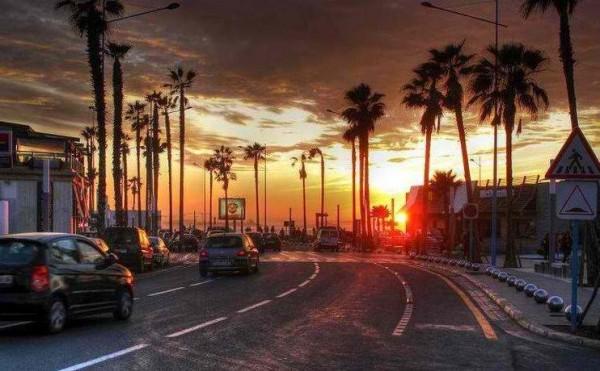 The Corniche of Casablanca