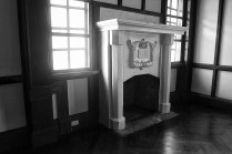 Fire Place in the Master Bedroom