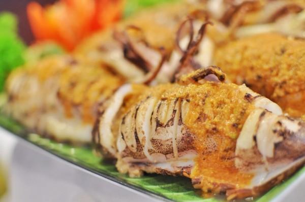 Fried Squid with Sambal