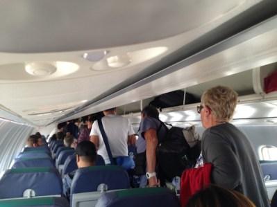 Cebu Pacific flight from Cebu to Siargao Island
