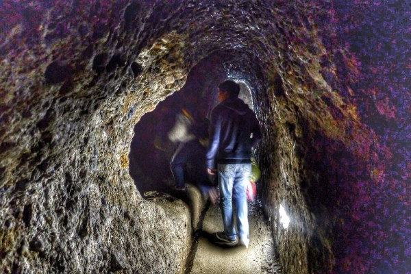 Inside the Japanese Tunnel in Baguio City