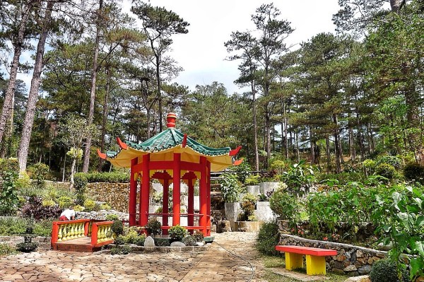Japanese Park inside Botanical Garden