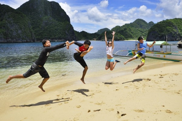 Kirk and Friends in Caramoan