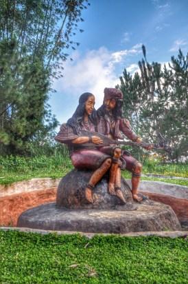 Sculpture of Kublai Millan