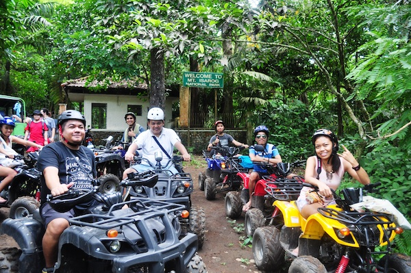 Travel Bloggers at Mount Isarog National Park
