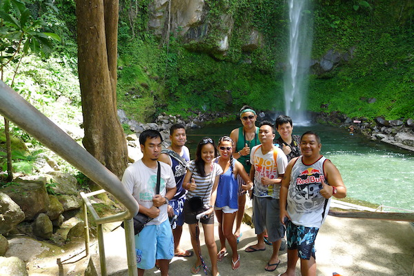 Travel Bloggers in Camiguin courtesy of Cebu Pacific