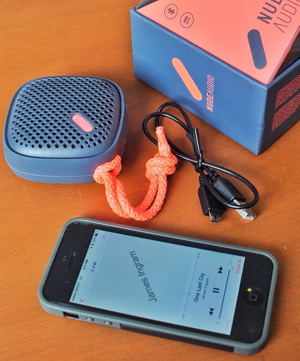 Bluetooth Portable Speaker from Nude Audio