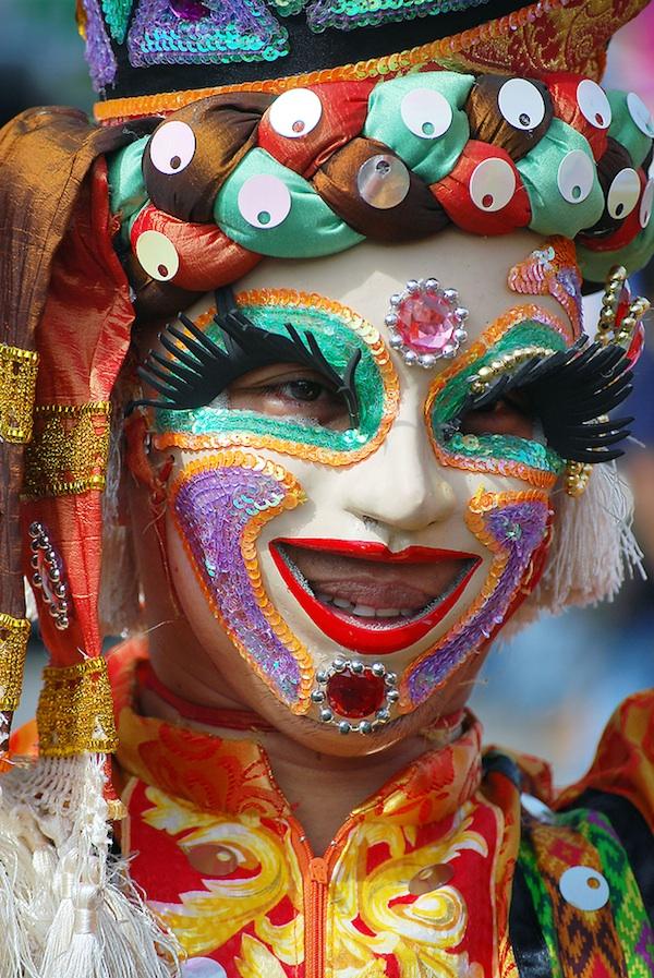 Masskara Festival Performer