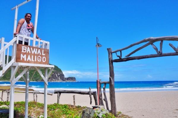 Melo Villareal at Dicasalarin Beach