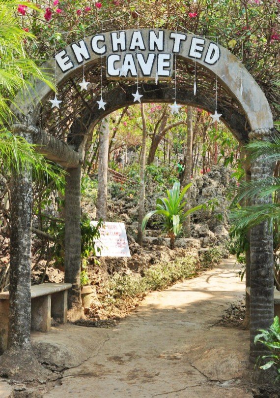 Enchanted Cave Entrance