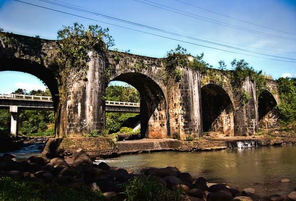 Malagonlong Bridge or Puente de Malagonlong in Tayabas City