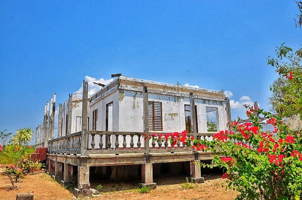 Ruins of Cape Bolinao
