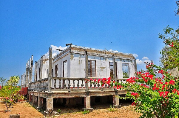 Ruins of Cape Bolinao