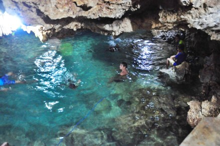 Spring Water Pool in Enchanted Cave