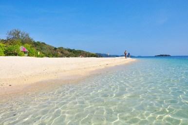 Crystal Beach at Cobrador Island