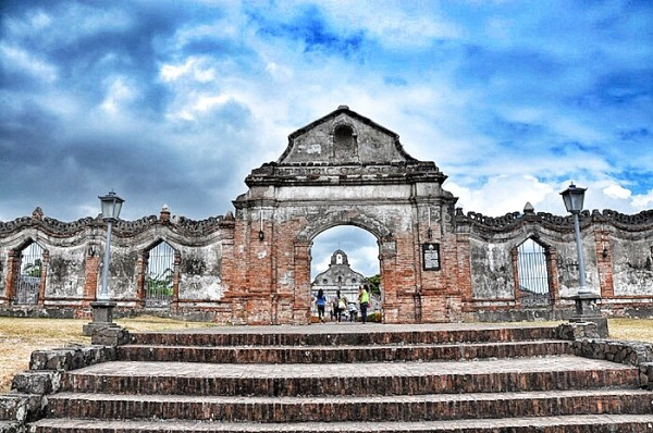 Entrance to the Underground Cemetery of Nagcarlan Laguna