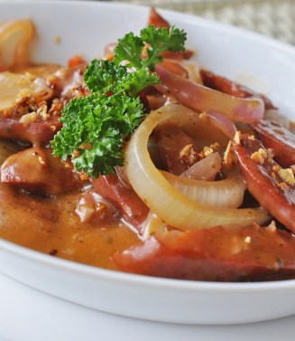 Grilled Hungarian Sausage