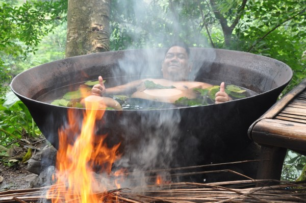 Kawa Hot Bath in Tibiao
