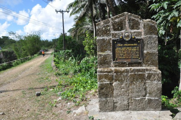 Malagonlong Bridge Historical Marker