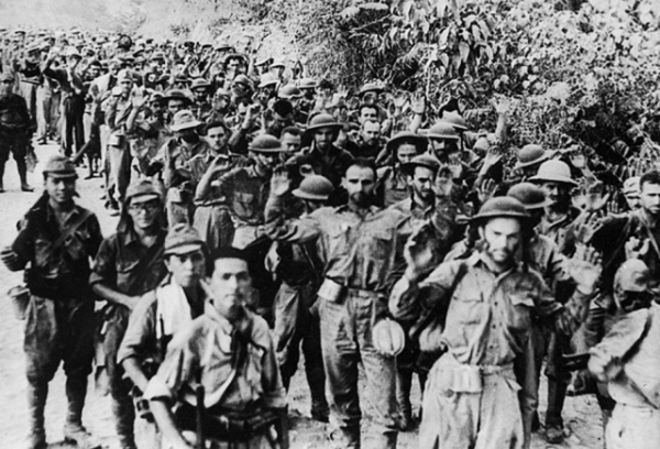 Surrender of U.S. forces at the Malinta Tunnel May 6, 1942