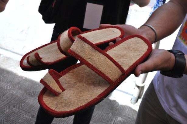 The Original Liliw Tsinelas made from Coconut Bark
