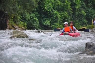 Whitewater Kayaking in San Teodoro