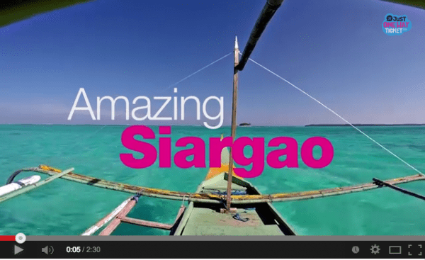 Amazing Siargao Video by Sabrina Iovino