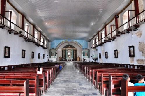 Inside Bolinao Church