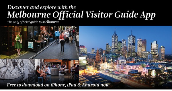 Melbourne Official Visitors Guide App