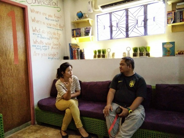 Quick Chat with Celine Cruz, one of the friendly owners of MNL Boutique Hostel