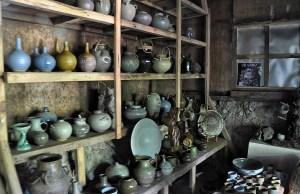 Sagada Pottery finished products