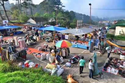 Saturday Market Day in Sagada