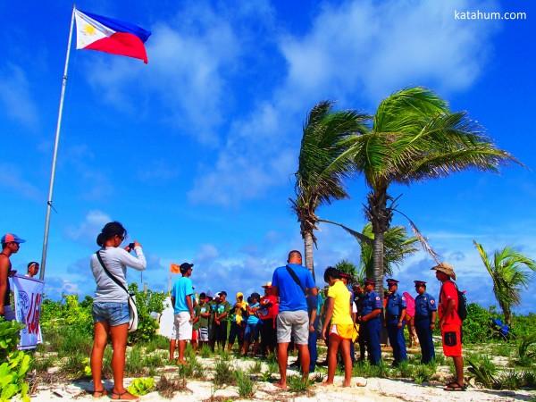 Seco Island Clean Up Volunteers