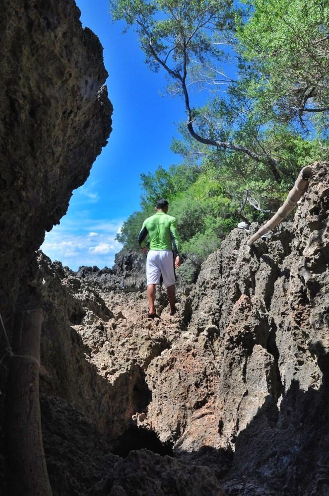 Undwerwater Cave Exit