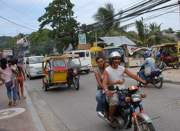 Getting around Boracay